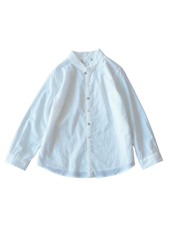ローンパフィウォッシュラウンド衿シャツ
