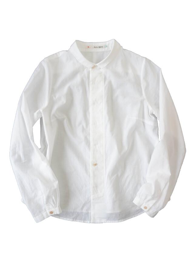 ローンパフィウォッシュちび衿シャツ
