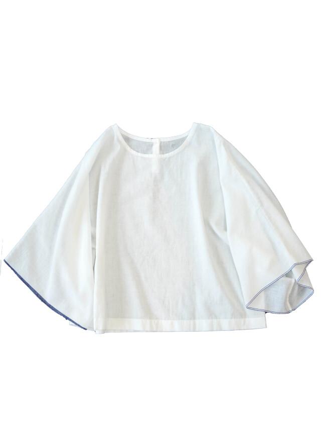 PP38.5白ガーゼワイド袖シャツ