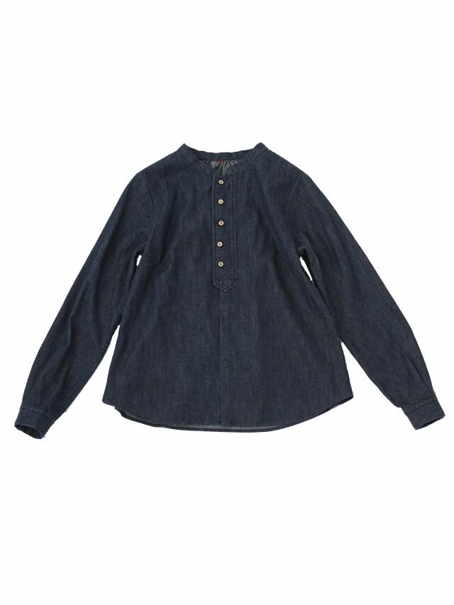6.5OZデニムギャザーシャツ