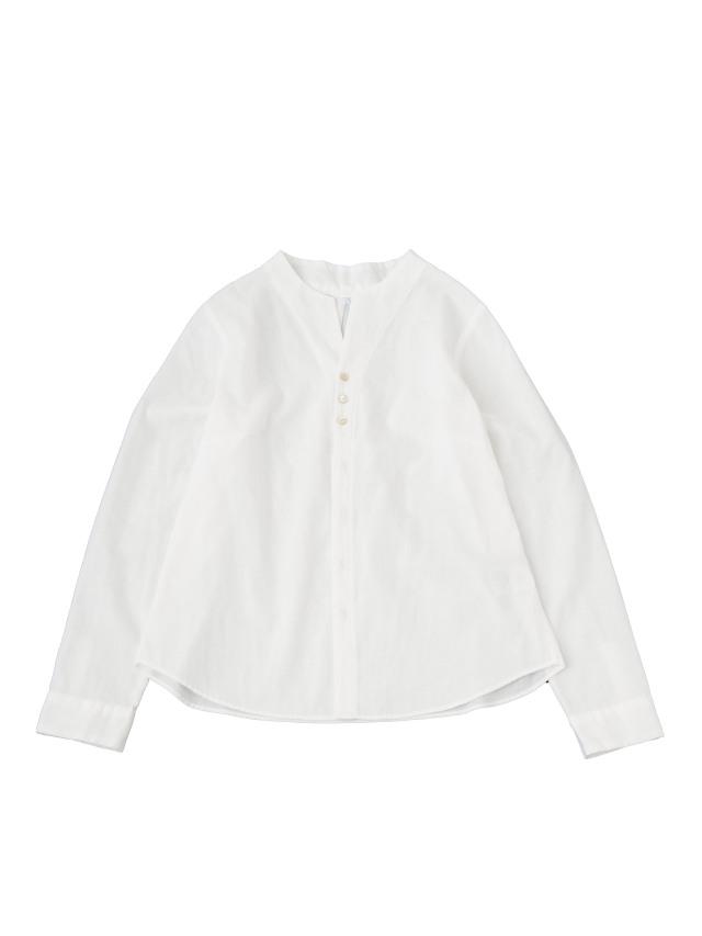 80/二重織ボトル襟シャツ