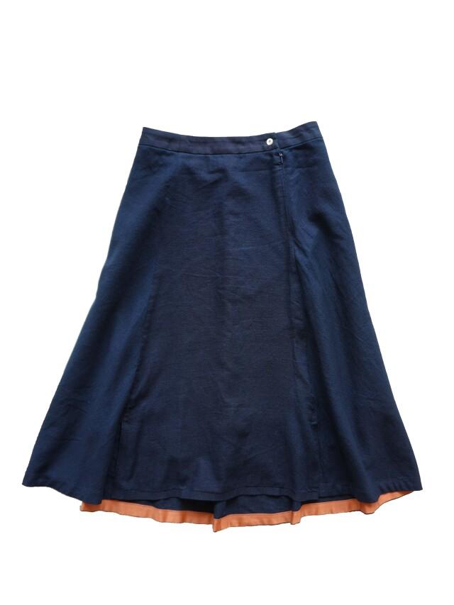 インディゴガーゼフレアースカート