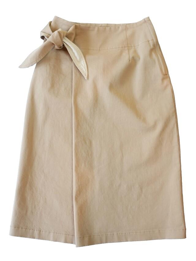 コンパクトチノストレッチラップタイトスカート