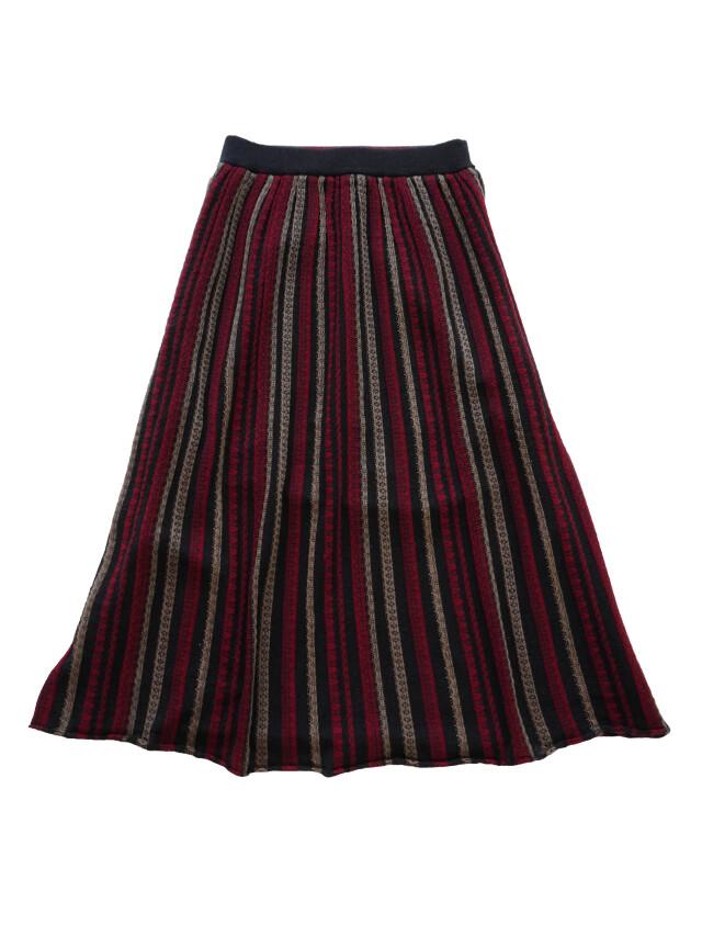 ウールジャガードフレアギャザースカート