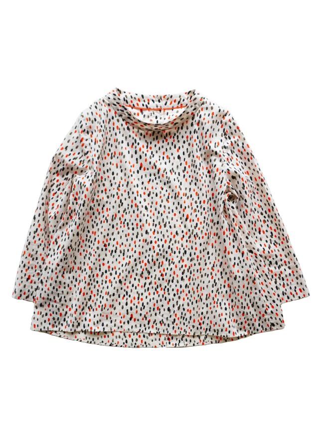 ローン三色霰スタンド衿シャツ