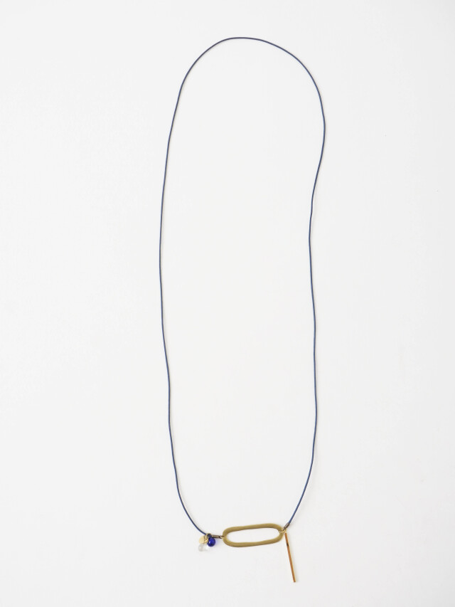 楕円ネックレス