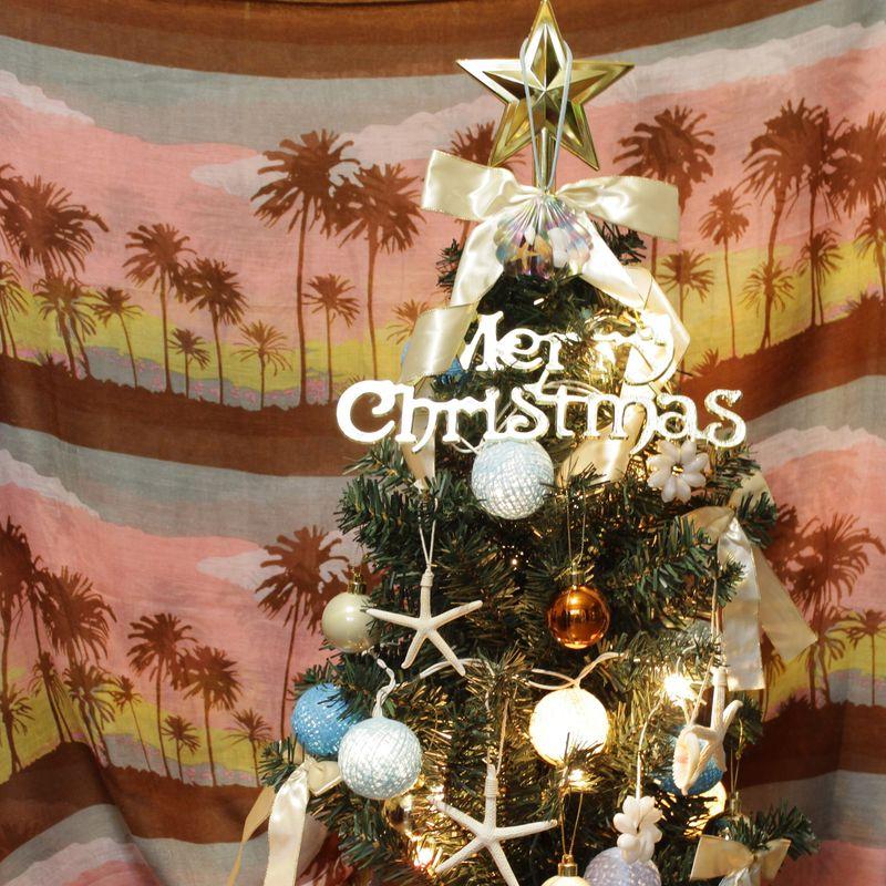 クリスマス/ビーチハウス/スターフィッシュ/シェル/セット/ビーチ/雑貨/パームシーズン/ 沖縄/通販 /インテリア/ハワイアン雑貨