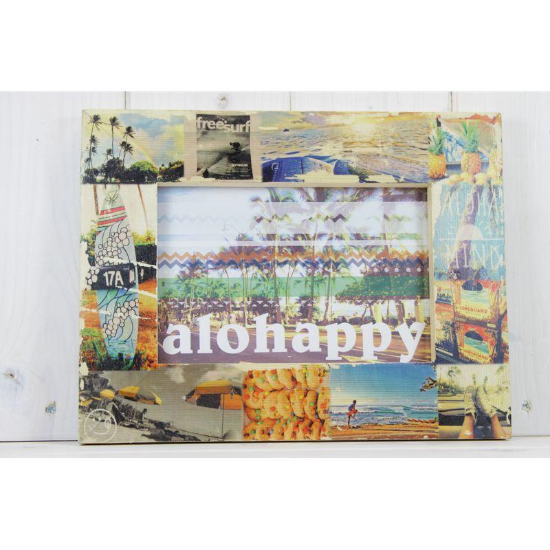 ビーチ/マリン/ファッション/パームシーズン/ 沖縄/通販 /seashoreinc/ハンドメイド/写真立て/フォトフレーム