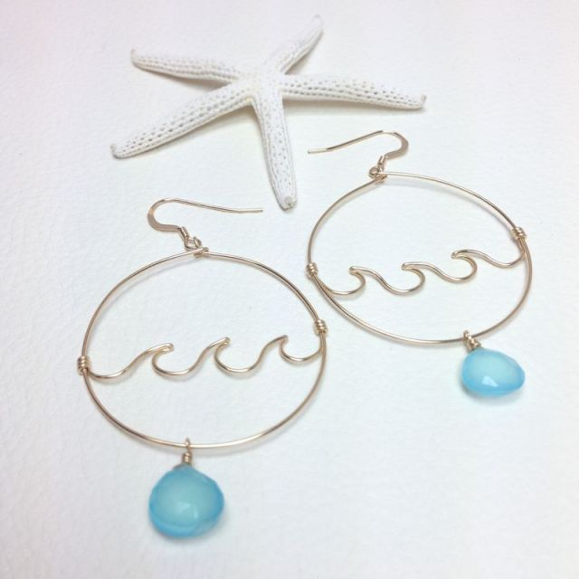 【MermaidJewelry】マーメイドジュエリー*ALL14kgf Seablue &am...