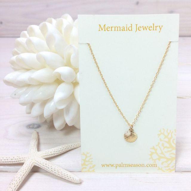 MermaidJewelry/マーメイドジュエリー /ビーチ/リゾートファッション/アクセサリー/沖縄/通販/シェル/ネックレス