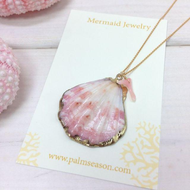 MermaidJewelry/マーメイドジュエリー /ビーチ/リゾートファッション/アクセサリー/沖縄/通販/シェル/ネックレス/サンゴ