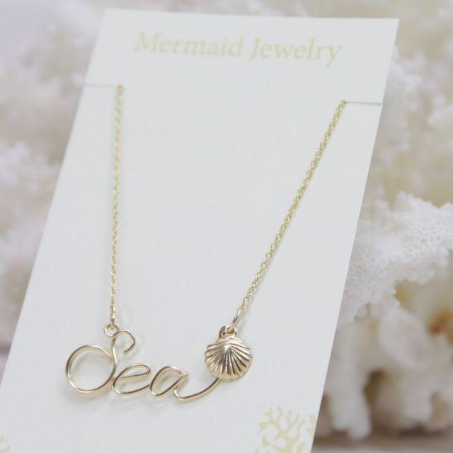 MermaidJewelry/マーメイドジュエリー /ビーチ/リゾートファッション/アクセサリー/パームシーズン/沖縄/通販/sea/海/ネックレス