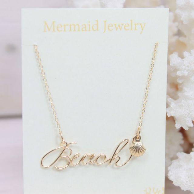 MermaidJewelry/マーメイドジュエリー /ビーチ/リゾートファッション/アクセサリー/パームシーズン/沖縄/通販/Beach/海/ネックレス