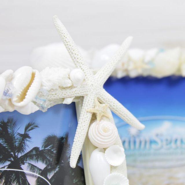 写真立て/フォトフレーム/ビーチハウス/インテリア/ビーチ/マリン/パームシーズン/ 沖縄/通販/ハンドメイド