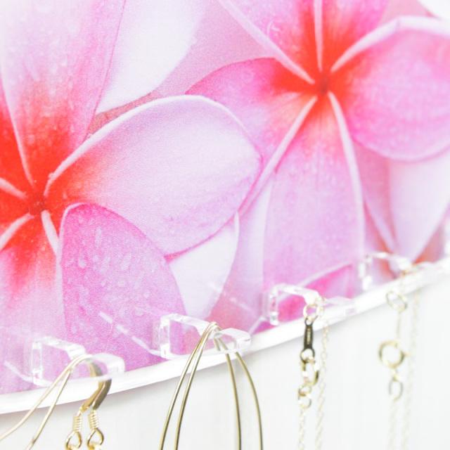 ビーチハウス/アクセサリースタンド/サーフボード/プルメリア/雑貨/パームシーズン/ 沖縄/通販 /インテリア/ハワイアン雑貨
