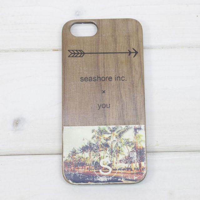 seashoreinc/iシーショアインク/ウッド/iPhoneケース /スマホケース/ビーチ/マリン/アクセサリー/パームシーズン/ 沖縄/通販