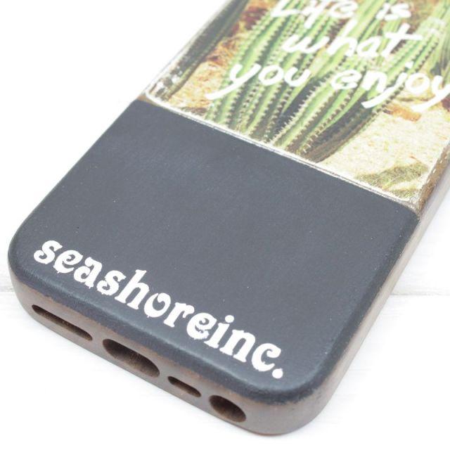 seashoreinc/iPhoneケース /スマホケース/ウッド/saboten/ビーチ/リゾート/マリン/ファッション/パームシーズン/ 沖縄/通販