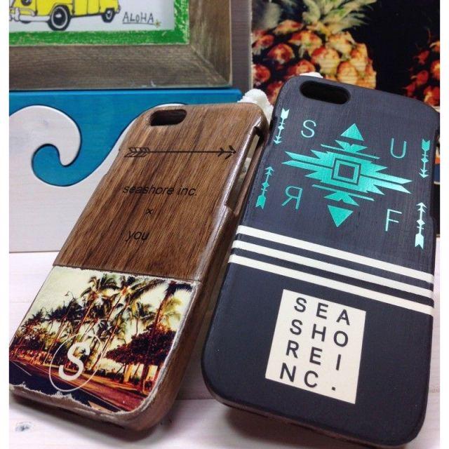 seashoreinc/iPhoneケース /スマホケース/ウッド/ネイティブ/eclair/ビーチ/リゾート/マリン/ファッション/パームシーズン/ 沖縄/通販