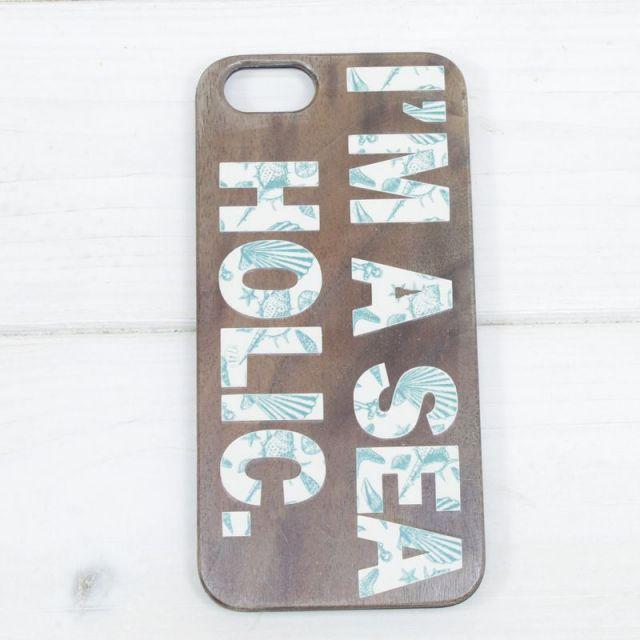 seashoreinc/シーショアインク/iPhoneケース /ウッド/木製/スマホケース/ビーチ/マリン/パームシーズン/ 沖縄/通販