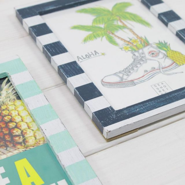 ビーチ/マリン/ファッション/アクセサリー/パームシーズン/ 沖縄/通販 /seashoreinc/エイジング加工/写真立て/フォトフレーム