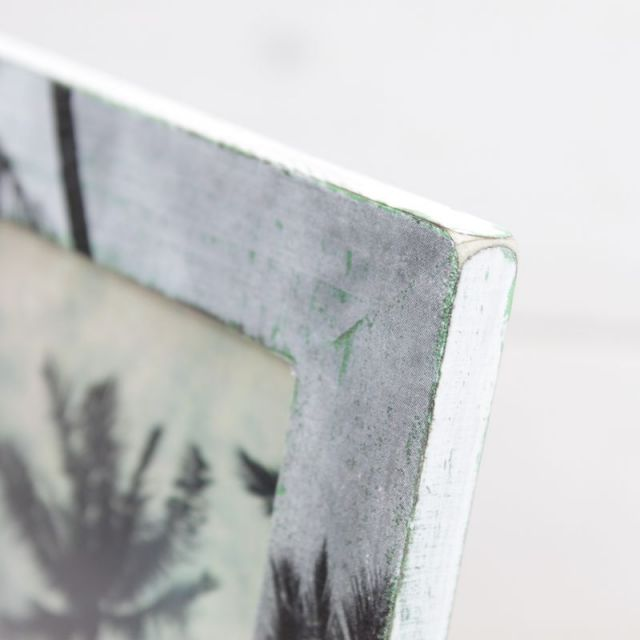 seashoreinc/シーショアインク/木製/写真立て/フォトフレーム/ヤシの木/ビーチハウス/パームシーズン/ 沖縄/通販 /ハンドメイド