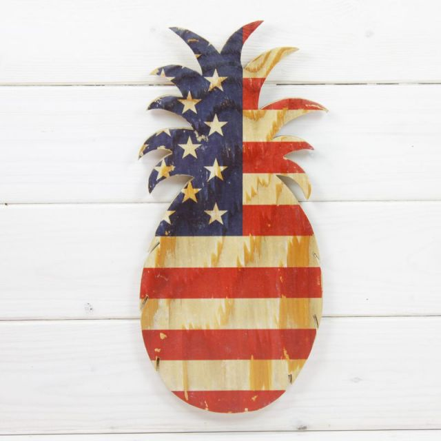 seashoreinc/シーショアインク/木製/ウッドプレート/アメリカ/星条旗/ビーチハウス/パームシーズン/ 沖縄/通販 /ハンドメイド