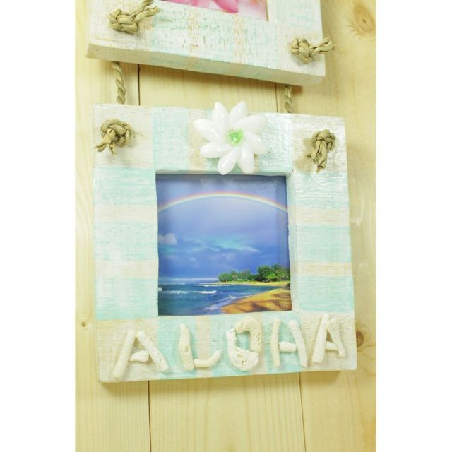ビーチ/マリン/ファッション/パームシーズン/ 沖縄/通販 /ハワイ/インテリア/写真立て/ハワイアン雑貨/aloha/フォトフレーム