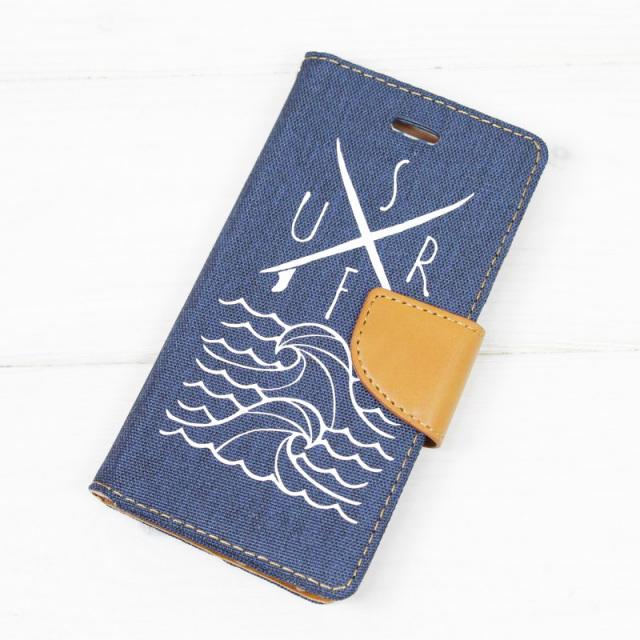 手帳型/iPhoneケース/サーフボード/SURF/サーフ/WAVE/波/ビーチ/ビーチガール/スマホケース/PalmSeason/沖縄/通販