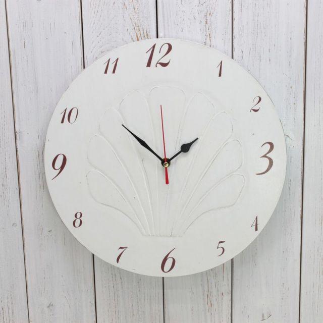 時計,置き時計,掛け時計,シェル,貝,ビーチインテリア,ビーチハウス,海を感じるインテリア,ビーチ,マリン,インテリア,雑貨,通販
