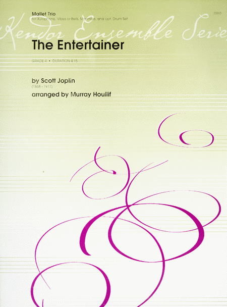 【アンサンブル 楽譜】エンターティナー(映画「スティング」より)【打楽器三重奏】