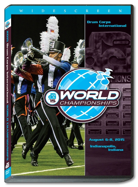 【マーチング DVD】2015 DCI World Championships Vol.1(World Class1-12)