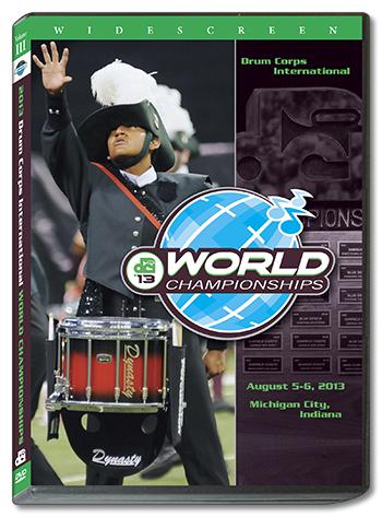【マーチング DVD】2013DCI World Championships Vol.3 (Open Class Finalists)