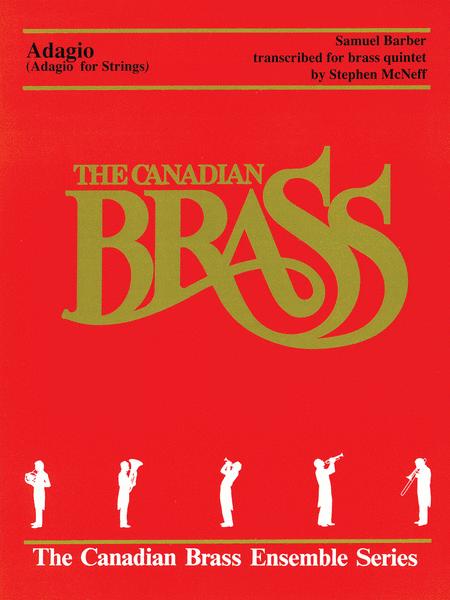 【アンサンブル 楽譜】弦楽のためのアダージョ【金管五重奏】