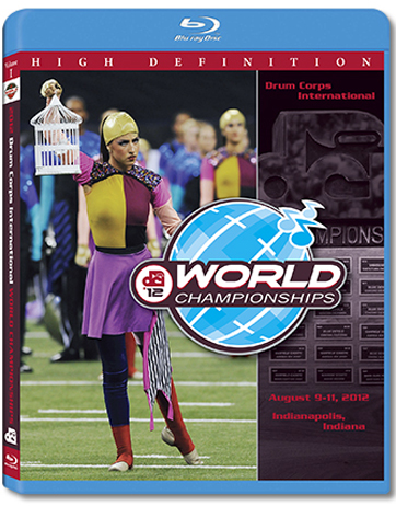 【マーチング ブルーレイ】2012 DCI World Championships Vol.1(World Class1-12)