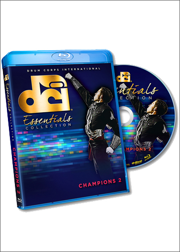 【マーチング ブルーレイ】DCI Essentials - Champions 2 Blu-Ray