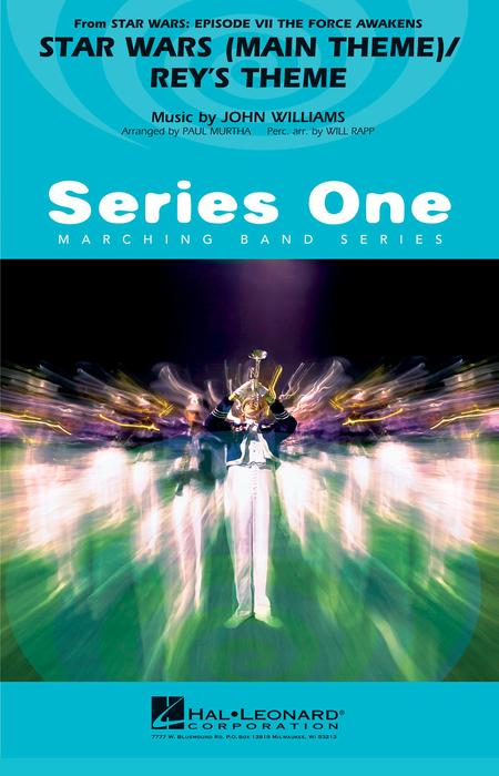 【マーチング 楽譜】「スター・ウォーズ/フォースの覚醒」より「メインテーマ」「レイのテーマ」