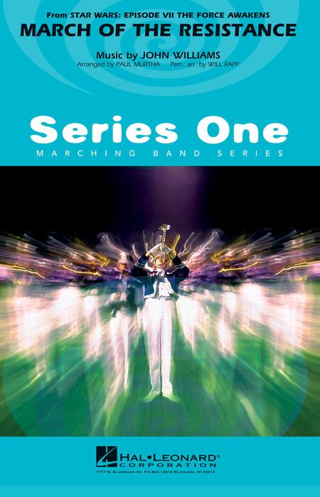 【マーチング 楽譜】「スター・ウォーズ/フォースの覚醒」より「レジスタンスのマーチ」