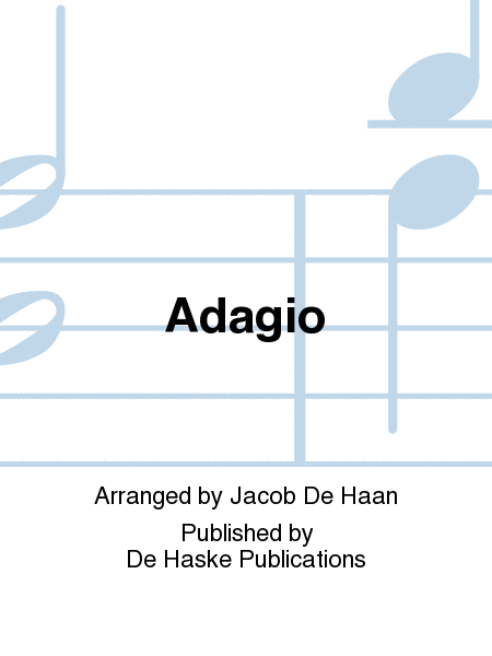 【吹奏楽 楽譜】アダージオ