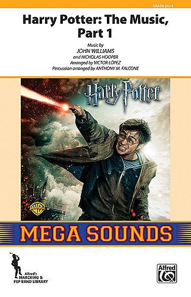 【マーチング 楽譜】「ハリー・ポッター・メドレー」パート1(オープナー)