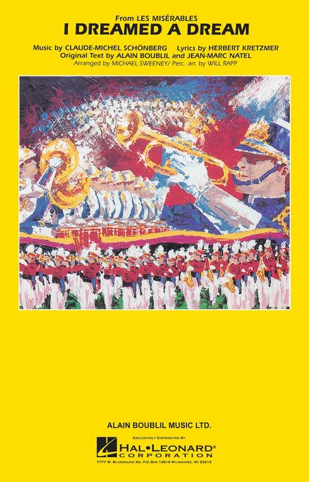【マーチング 楽譜】「レ・ミゼラブル」より「夢やぶれて」