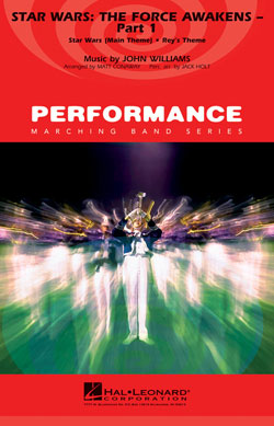 【マーチング 楽譜】「スター・ウォーズ/フォースの覚醒」パート1(オープニング)