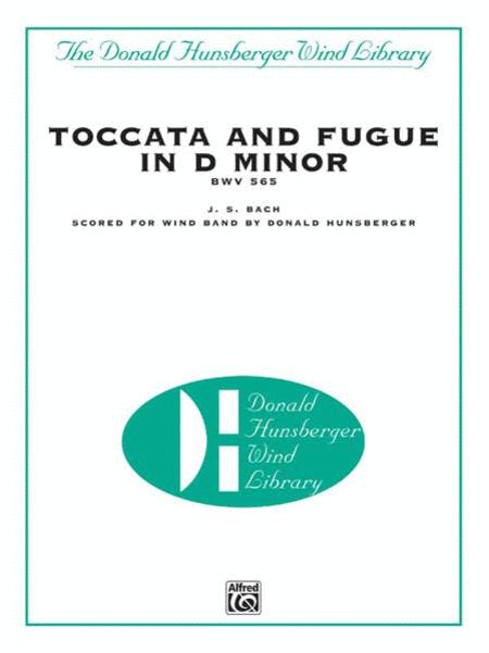 【吹奏楽 楽譜】トッカータとフーガニ短調