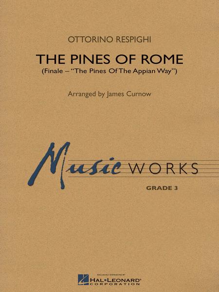 【吹奏楽 楽譜】「ローマの松」よりアッピア街道の松