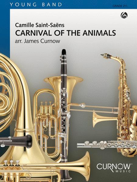 【吹奏楽 楽譜】動物の謝肉祭