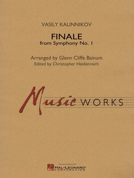 【吹奏楽 楽譜】交響曲第1番ト短調より最終楽章