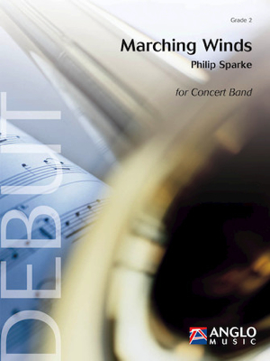 【吹奏楽 楽譜】マーチング・ウィンズ