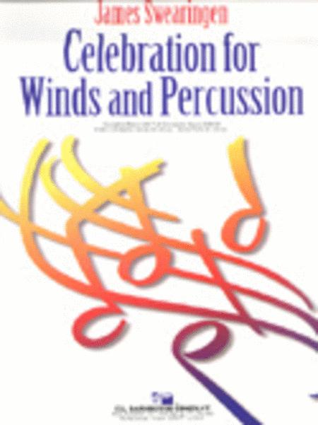 【吹奏楽 楽譜】管、打楽器のための祝典【参考音源CD付】
