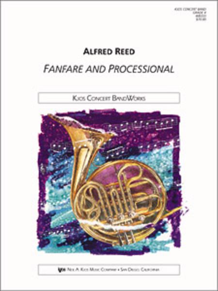 【吹奏楽 楽譜】ファンファーレとプロセッショナル