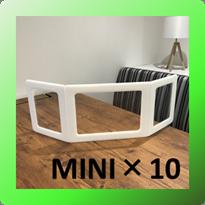 モバイルパーテーション ブルーMINI(10個入り)  ※納期最大10営業日程度