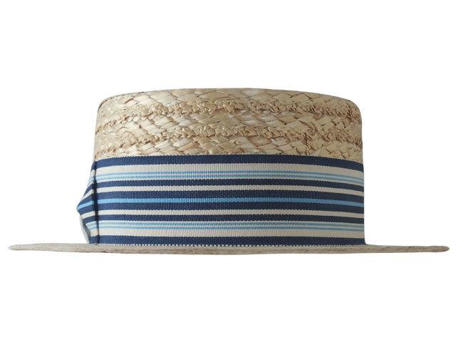 文二郎のカンカン帽 ミスターストライプ
